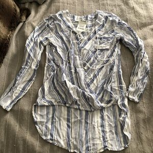 Stripped blouse from marshals